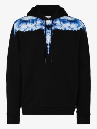 Smoke Wings cotton hoodie