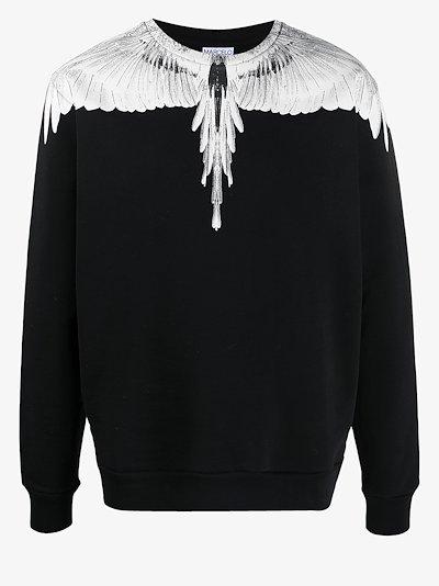 Wings crew neck sweatshirt