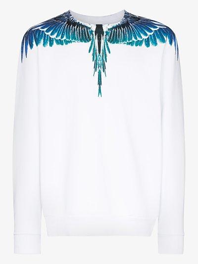 Wings print sweatshirt