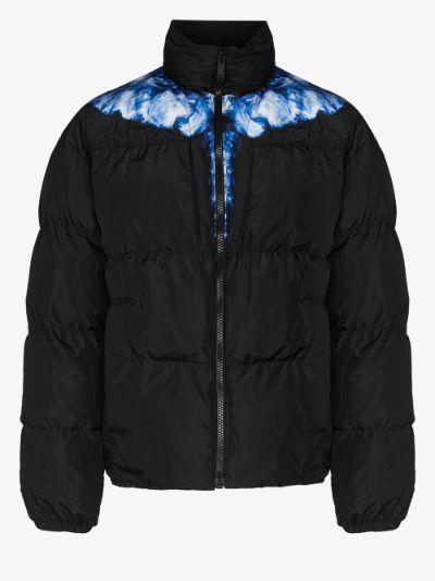 Wings puffer jacket