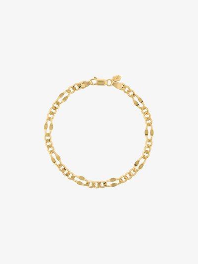 gold-plated Dean chain bracelet
