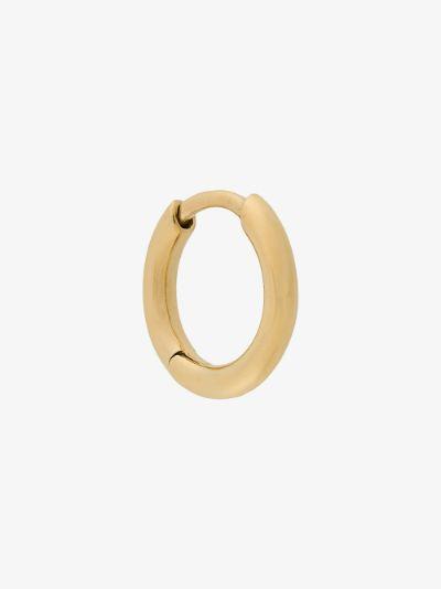 Gold-plated Marco huggie hoop earring