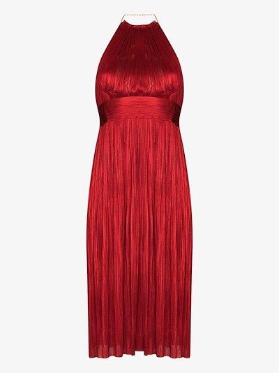 Cybele silk midi dress