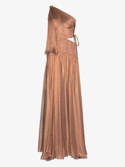 Matilda one shoulder gown