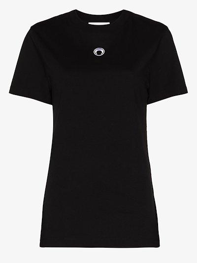 crescent moon oversized T-shirt