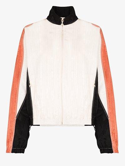 moiré track jacket