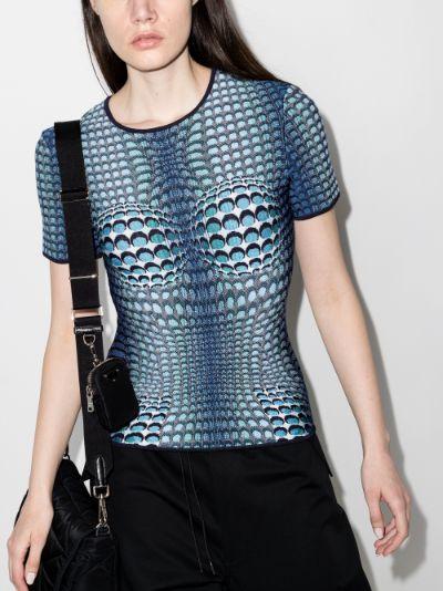 Moonfish Skin knitted T-shirt