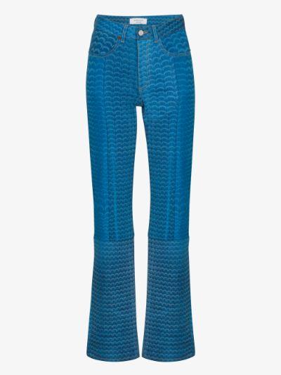 Moonfish Skin straight leg jeans