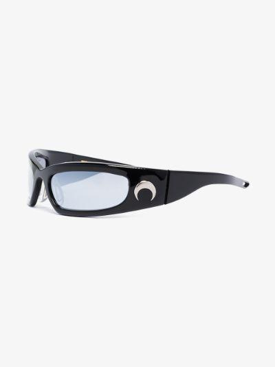 X Gentle Monster black Visionizer sunglasses