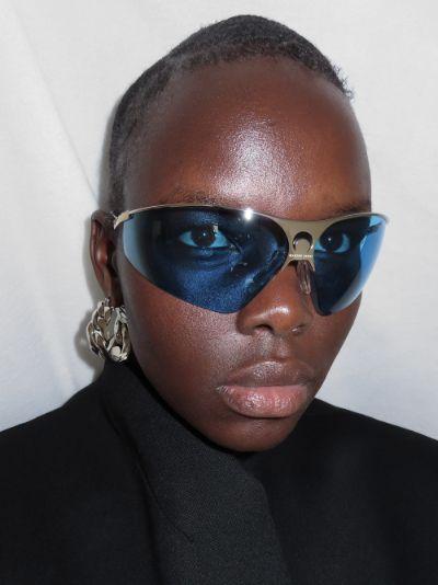 X Gentle Monster blue Visionizer sunglasses