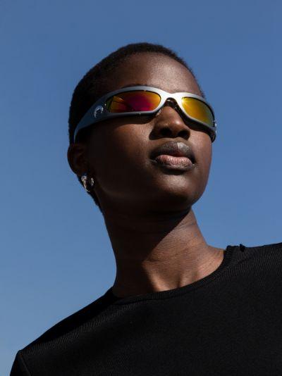 X Gentle Monster grey Visionizer sunglasses