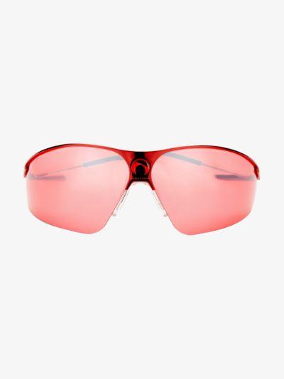 X Gentle Monster red Visionizer sunglasses