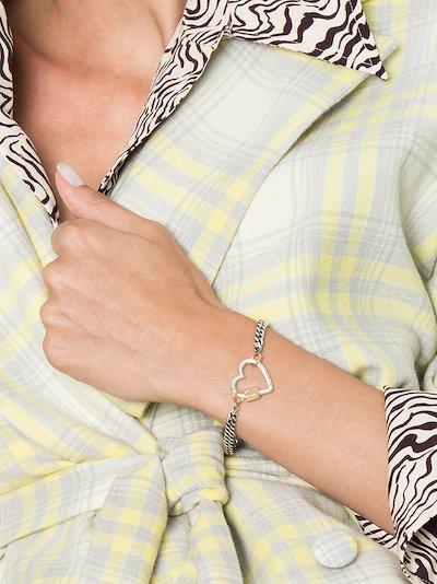 14K yellow gold Heavy Curb chain bracelet