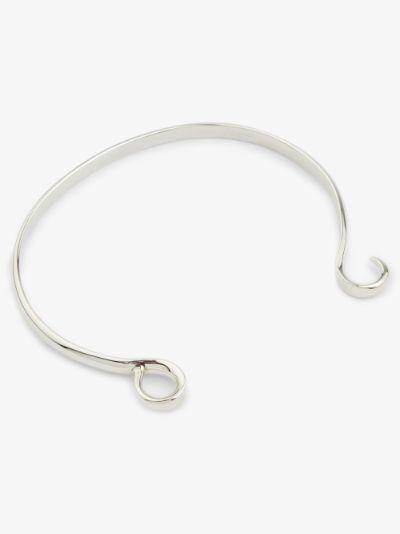 sterling silver Hard Hook large bracelet