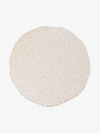 white vanity ceramic plate