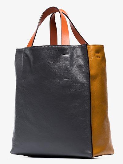 brown Museo medium leather tote bag