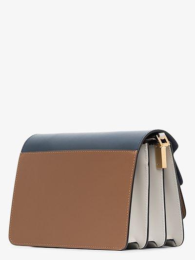 brown Trunk medium leather shoulder bag