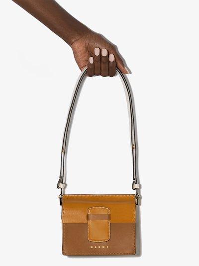 multicoloured Severine leather shoulder bag