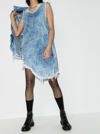 reM'Ade Acid Wash Denim Dress