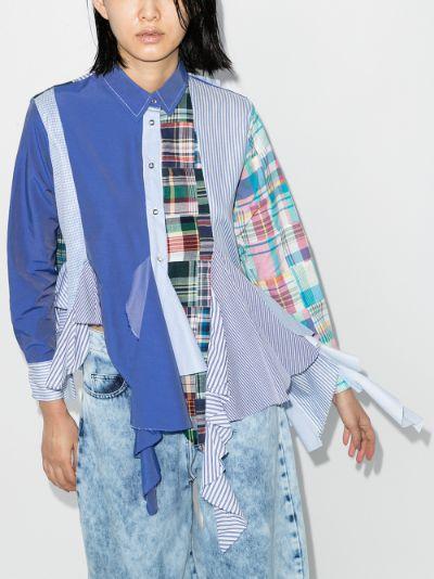 reM'Ade mixed print shirt