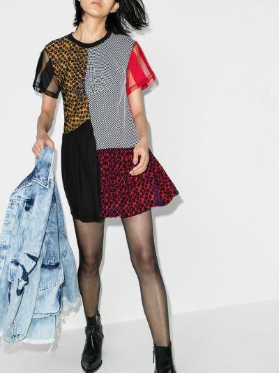 reM'Ade patchwork mini dress