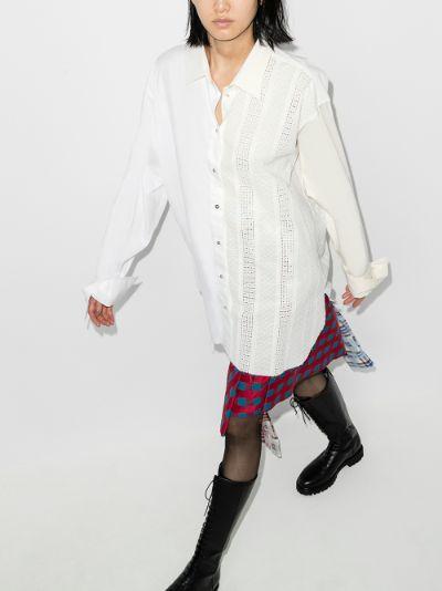 reM'Ade Two Tone Oversized Shirt