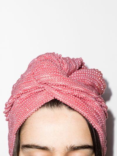 pink Frankie embellished turban