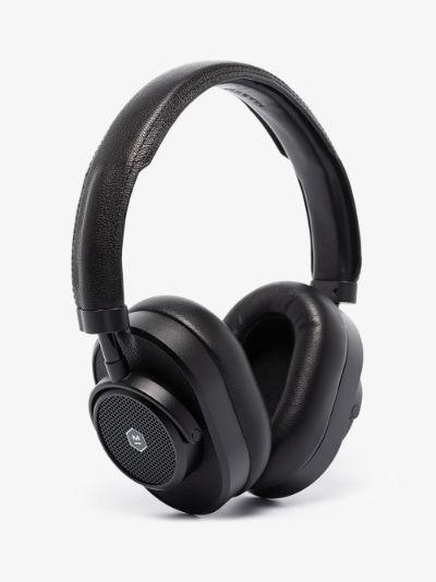 black MW65 Active Noise Cancellation Wireless headphones
