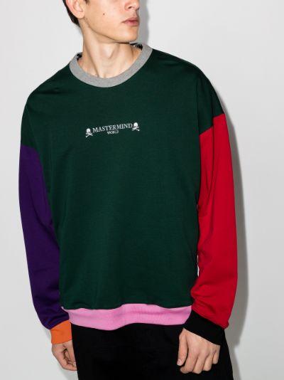 Mastermind World Contrast Panel Sweatshirt