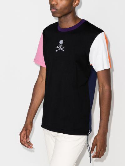 Mastermind World Contrast Panel T-shirt