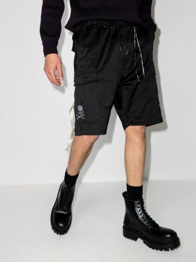 mastermind world cotton cargo shorts