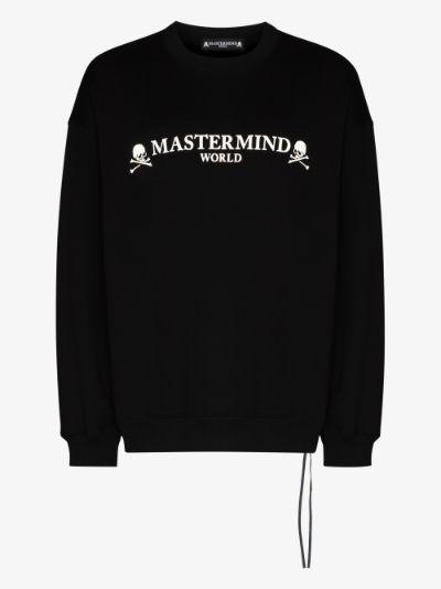 Mastermind World Logo Print Sweatshirt
