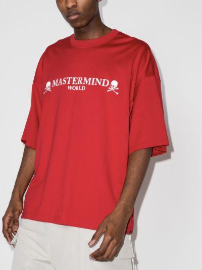 Mastermind World skull logo T-shirt