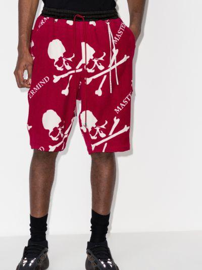 Mastermind World skull print shorts