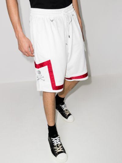Mastermind World Taped jacquard shorts