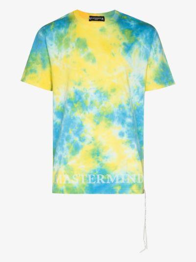 Mastermind World Tie-dye Skull print T-shirt