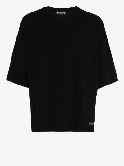 Pile Skull Print T-shirt