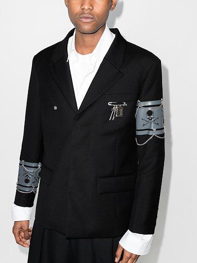 X C2H4 C-Mastermind layered blazer