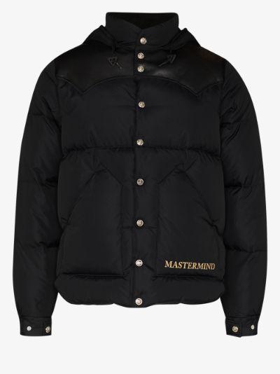 X Rocky Mountain hooded puffer jacket