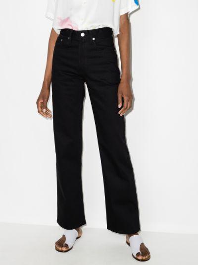 Summer straight leg jeans