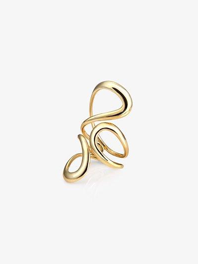 18K yellow gold Aria Jane ring