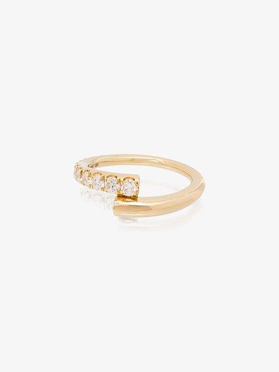 18K yellow gold Lola diamond ring