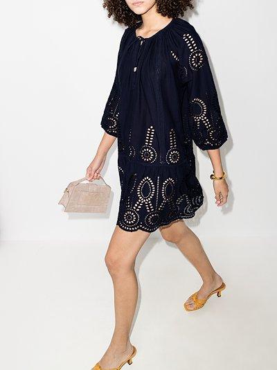 Ashley broderie anglaise mini dress