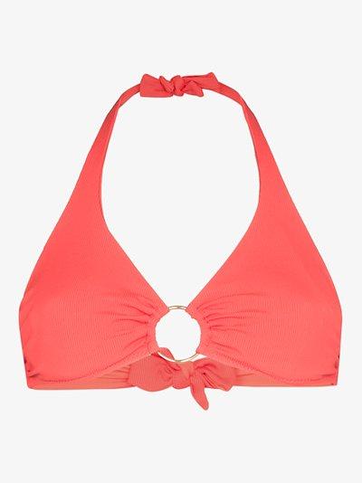 Brussels halterneck bikini top