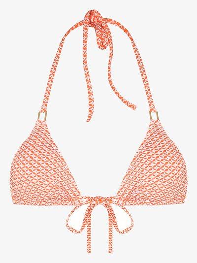 Cancun mosaic bikini top