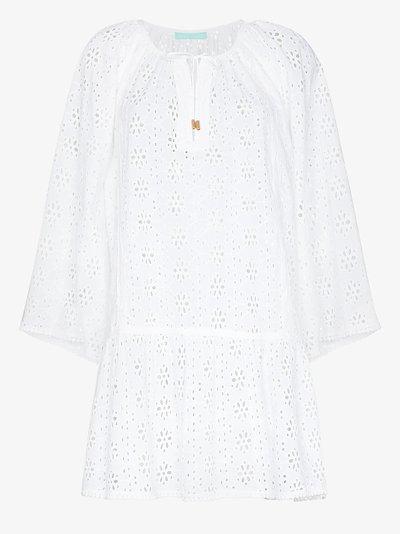 Corina mini cotton beach dress