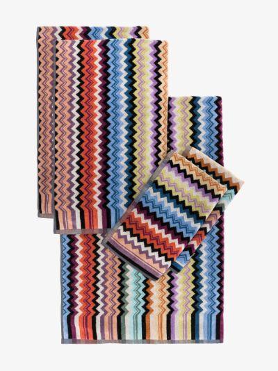 Multicoloured Adam Cotton Towel Set
