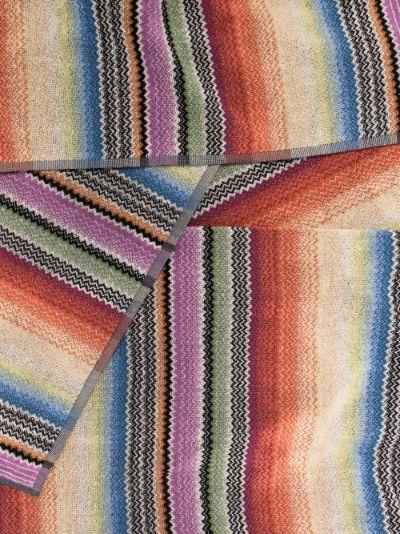 Multicoloured Archie Cotton Towel Set