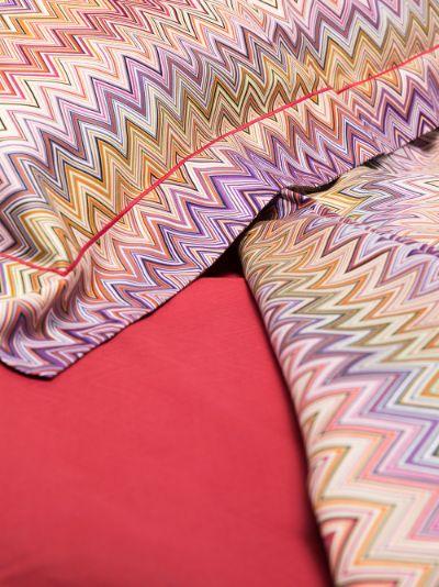 multicoloured John and Jo king duvet set