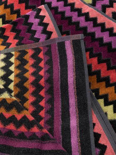Multicoloured Warner Cotton Towel Set